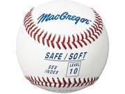 Baseball - MacGregor Safe/Soft Level 10, One Dozen