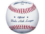 Babe Ruth League Baseballs - MacGregor #74 Official, Dozen