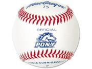 Pony League Baseball MacGregor Dozen B75 Ages 5 12