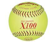 11 in. Fast Pitch Softball Set of 12