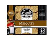 Mesquite Bisquettes Pack - 48 Count