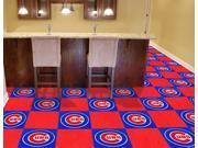 Logo Carpet Tiles - Chicago Cubs