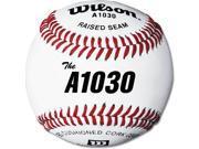 Baseballs Wilson A1030 High School Practice Game 1 Dozen