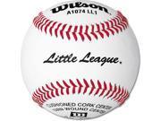 Little League Baseballs - Wilson A1074 LL1 1-Dozen Pack