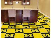 Logo Carpet Tiles University of Michigan