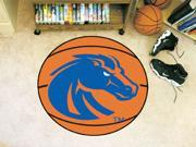 Basketball Area Rug w Official Boise State Broncos Logo