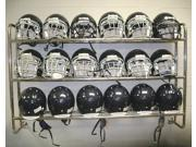 Multi Sport Helmet Rack Wall Mounted with Steel Frame