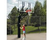 Basketball System - Ultimate Adjustable Height w Polycarbonate Backboard