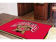 Sports Rug - University of Maryland  (4 ft. x 6 ft.)