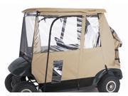Fairway 3-Sided Golf Car Enclosure in Sand