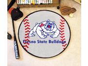 Official NCAA Baseball Mat w Fresno State University Team Colors
