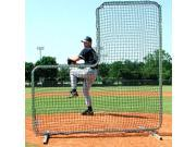 Collegiate Pitcher Protector w Galvanized Steel Frame