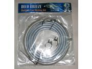 Deco Breeze Outdoor Fan Misting Accessory Kit w Clear Tubing