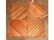 Eucalyptus Wood Tiles Pack of 10 Tiles