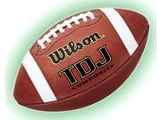 Wilson TDJ Composite Football in Junior Size