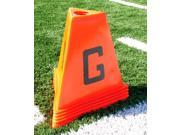 11 Pc Football Sideline Markers in Pyramid Shapes