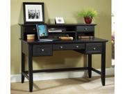 54 in. Executive Desk with Hutch