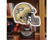 Purdue University Neon Helmet Lamp