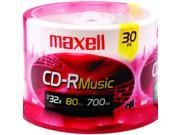 Music CD-Rs (30-Ct Spindle)