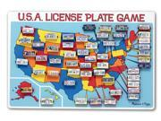USA License Plate Game