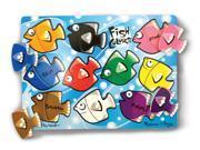 Fish Colors Mix 'n Match Peg Puzzle