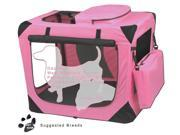 Generation II Deluxe Portable Soft Crate (Pink)