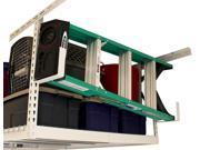Utility Hooks for Garage Overhead Storage Rack - Set of 2 (White)