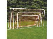 Port Short Sided Powder Coated Goal 6 ft. x 8 ft.