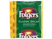 Folgers Folgers Classic Roast, Decaffeinated, 1.5 oz., 42Bg,Ct