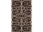 Amber Area Rug In Brown-Beige - 11 ft. x 8 ft.