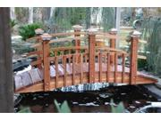 4 ft. Galvanized Half Spindle Bridge Half Spindle Bridge Sealed w Lights