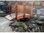 8 ft. Hand Built Spindle Bridge Sealed Spindle Bridge