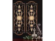 Uttermost, Micayla Panels Set of 2, Metal Wall Art 9SIA0S73H62938