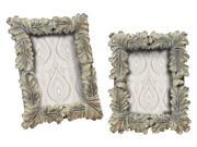 2-Pc Florintine Scroll Picture Frame Set