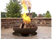Ohio Flame 42in. Diameter Fire Pit in Natural Steel Finish