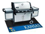University of Kansas Grill Mat