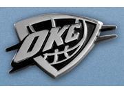 """Fanmats NBA - Oklahoma City Thunder Emblem - 2.5"""""""" x 4"""""""""""" 9SIA05Y6XF7650"""