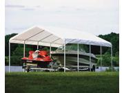 Wide Boat Shelter - Carport w Pro Grade Frame