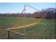 Set of 2 Telescoping Soccer Goals 6 ft. x 8 ft. 6 ft. x 6 ft. 7 ft. x 12 ft. High Density