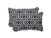 Outdoor Starlet Night Rectangular Throw Pillow