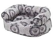 Double Donut Bed in Chateau Fabric (X Large: 48 x 38 x 17 in.) 9SIA2HK2WM3663