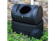 Compost Wizard Hybrid Composter and Rain Barrel in Black