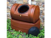 Compost Wizard Hybrid Composter and Rain Barrel in Terra Cotta
