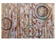 Crestview Round Spectrum Canvas Wall Art 9SIA6DA5735686