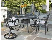 5-Pc Patio Dining Set with Stainless Steel Hardware