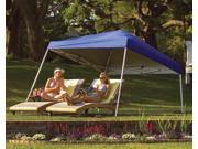 Blue Backyard Canopy w Slant Frame