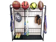 Sports Equipment Organizer in Black