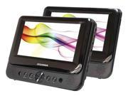 7 in. Dual-Screen Portable DVD Player