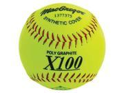 12 in. Synthetic Cover Softball Set of 12