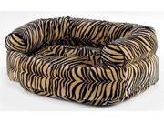 Diamond Microvelvet Double Donut Pet Bed - Safari (X Large: 48 x 38 x 17 in.) 9SIA2HK39Z3297